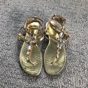 🌟Gold Michael Kors Sandals 🌟
